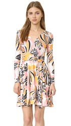 Yumi Kim Double Cross Dress Retro Bloom Print
