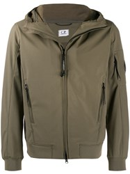 C.P. Company Cp Lens Hooded Jacket Green