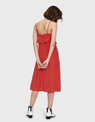 Which We Want Fatima Dress In Red