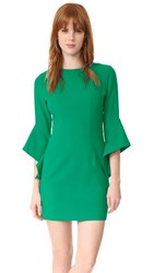 Black Halo Lorie Dress Agave Green