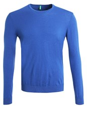 United Colors Of Benetton Jumper Blue Royal Blue