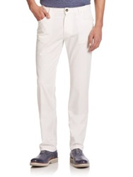 Corneliani Straight Leg Jeans White