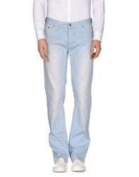 Class Roberto Cavalli Trousers Casual Trousers Men Sky Blue