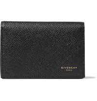 Givenchy Pebble Grain Leather Cardholder Black