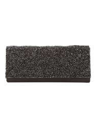 Jane Norman Black Embelished Diamante Party Clutch