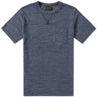 National Anthem Athletic Goods V Pocket Tee Blue