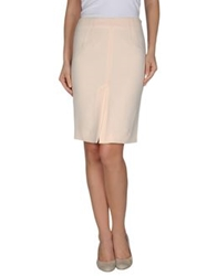 Laltramoda Knee Length Skirts Light Pink