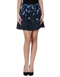 Calla Mini Skirts Dark Blue