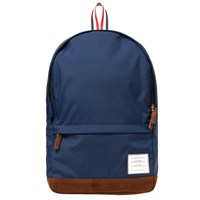 Thom Browne Nylon And Suede Backpack Blue