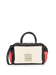 See By Chloe Colorblock Leather Satchel Black Multi
