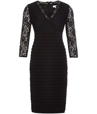 Cc Lace Shutter Dress Black