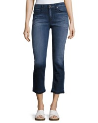 Parker Smith Cropped Straight Jeans Dark Blue
