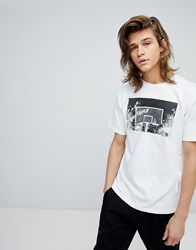 Fairplay T Shirt With Photographic Print White