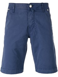 Jacob Cohen Classic Chino Shorts Blue