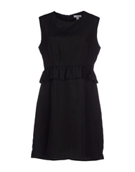 Kling Short Dresses Black