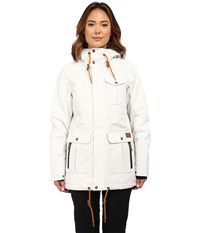 O'neill Maad Jacket Powder White Women's Coat