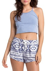 Women's Billabong Print Drawstring Shorts