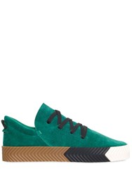 Adidas Originals By Alexander Wang 20Mm Skate Suede Slip On Sneakers
