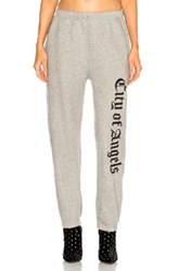 Adaptation Embroidered Sweatpants In Grey