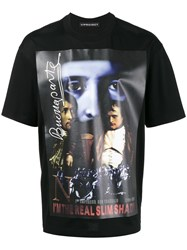 Y Project Slim Shady Print T Shirt Cotton Xl Black