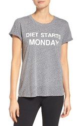 Private Party Women's Diet Starts Monday Tee