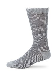 Ugg Textured Crew Socks Black