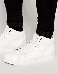G Star G Star Stanton Mono Hi Top Trainers White