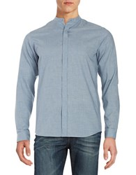 Selected Chambray Sportshirt Light Blue