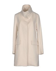 Closed Coats And Jackets Full Length Jackets Women Ivory