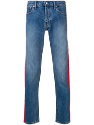 Calvin Klein Jeans Side Panelled Blue