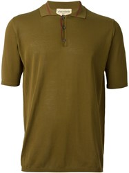 Al Duca D'aosta 1902 Knit Polo Shirt Green
