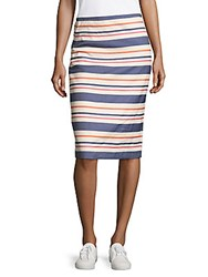 Hobbs Andara Pencil Skirt Natural