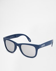 Vans Foldable Spicoli Sunglasses In Blue Vunkj2t Blue