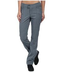 Royal Robbins Herringbone Discovery Strider Bootcut Pants Pewter Women's Casual Pants