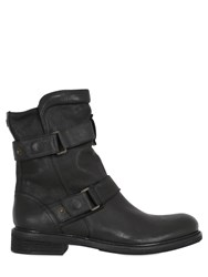 Matchless London Wild One Zip Up Leather Biker Boots