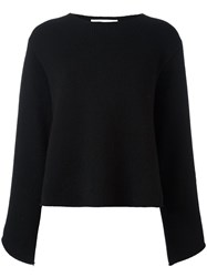 Chloe Oversized Sleeve Jumper Black