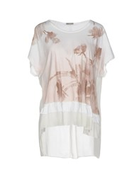 High T Shirts Light Brown