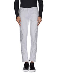Paolo Pecora Denim Denim Trousers Men White