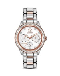 Citizen Silhouette Watch 37Mm White Silver