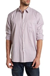 Barbour Erewash Check Long Sleeve Classic Fit Shirt Red