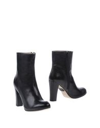 Rose Ankle Boots Black