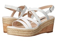 French Connection Liya Summer White Women's Shoes