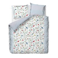 Pip Studio Hummingbirds Star White Duvet Cover King