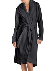 Ugg Heathered Shawl Collar Robe Charcoal