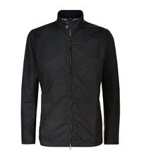 Barbour Brompton Wax Jacket Male Navy