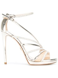 Loriblu Strappy Heeled Sandals Metallic