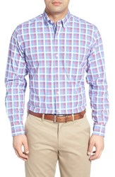 Tailorbyrd Men's Maple Check Sport Shirt