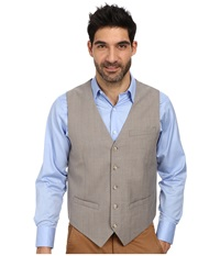 Perry Ellis Slim Fit Travel Luxe Stripe Suit Vest Alloy Men's Vest Gray