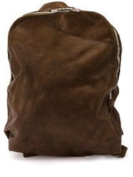 Guidi G4 Backpack Brown