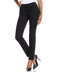 Dkny Jeans Skinny Pull On Jeans Noir Wash